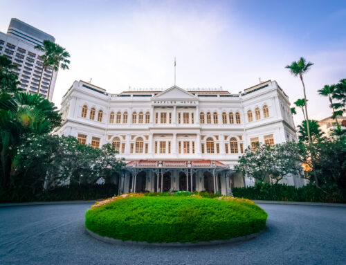 The Return of a Legend:Raffles Hotel Singapore Re Opens