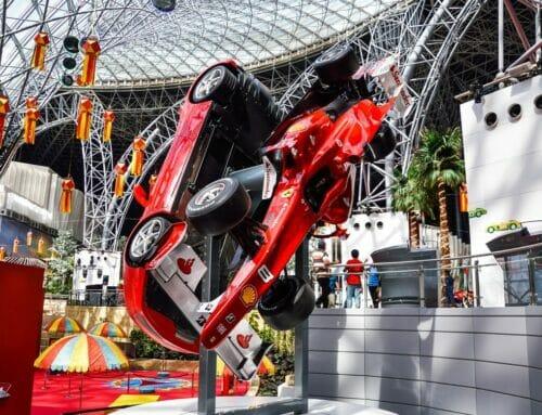 Abu Dhabi's Yas Theme Parks Now Open